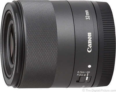 Canon Introduces EF-M 32mm f/1.4 STM Lens