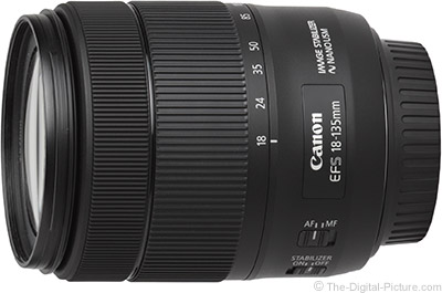 B&H has the New Canon EF-S 18-135mm IS USM Lens In Stock