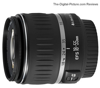 Canon EF-S 18-55mm f/3.5-5.6 Lens
