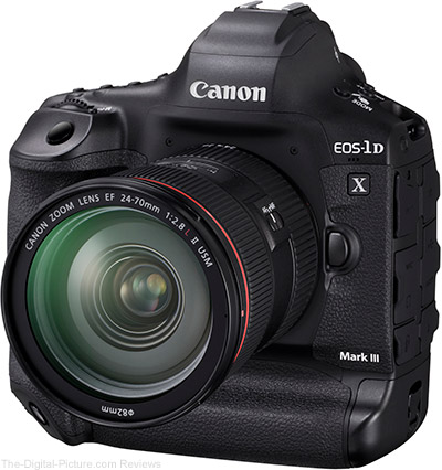Act Fast: 10-Rated Used Canon EOS-1D X Mark III with CFexpress Card and Reader Bundle In Stock at B&H for Only $5,718.95!