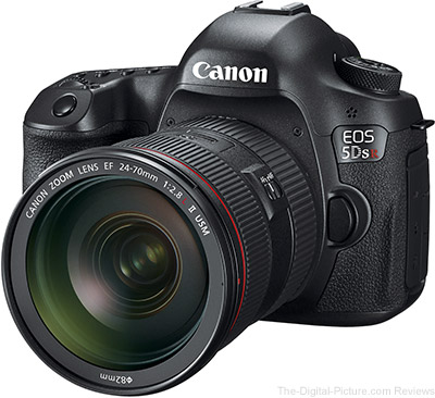 Finally: Canon EOS 5Ds R In Stock at B&H
