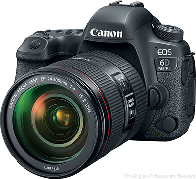 Canon EOS 6D Mark II Owner's Manual Now Available