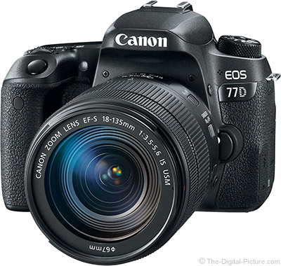 Canon EOS 77D with 18-135mm IS USM Lens