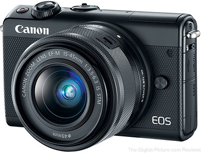 Canon EOS M100 with EF-M 15-45mm IS STM Lens