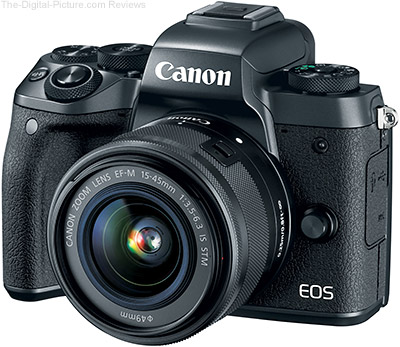 Canon EOS M5 + EF-M 15-45mm IS STM Lens