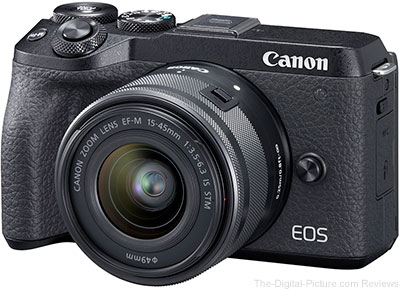 Canon EOS M6 Mark II Firmware Update Version 1.1.0 Now Available, 23.98p Added