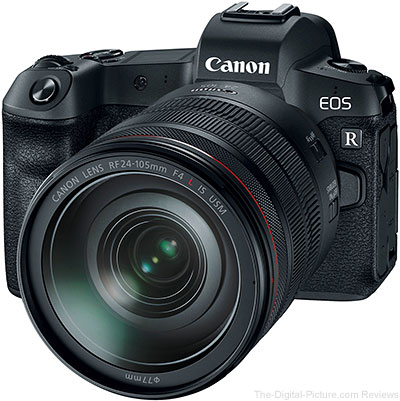Canon EOS R with RF 24-105mm Lens
