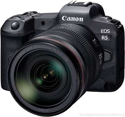 Canon EOS R5 with RF 24-105mm F4 L IS USM Lens