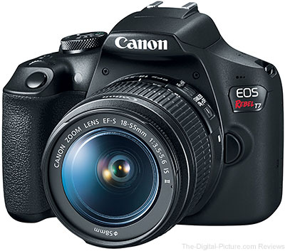 Canon EOS Rebel T7 DSLR Camera