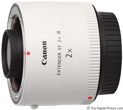 Used Canon Extender EF 2X III (9 ) - $364.50 Shipped (Compare at $429.00 New)