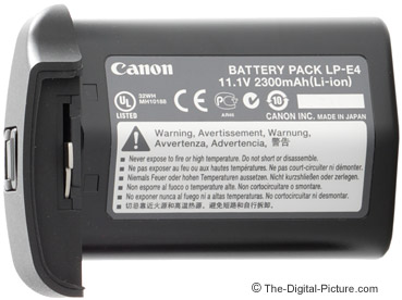 Canon LP-E4 Battery Pack