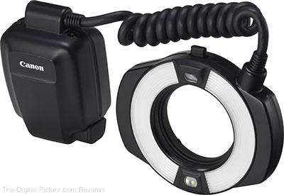Canon Macro Ring Lite MR-14EX II Flash In Stock at B&H