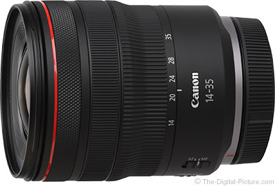 Canon RF 14-35mm F4 L IS USM Lens