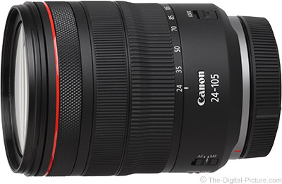 Canon RF 24-105mm f/4 L IS USM Lens