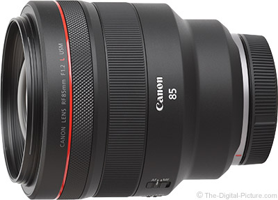 Canon Introduces the RF 85mm F1.2 L USM Lens