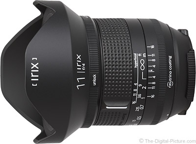 Irix 11mm f/4 Firefly Lens