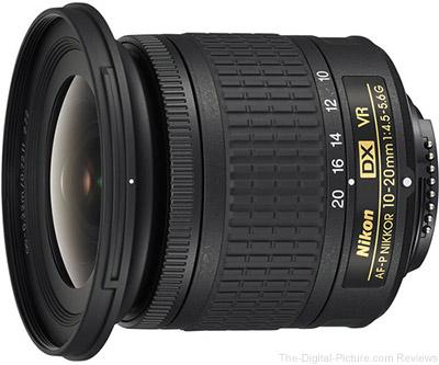 Nikon 10-20mm f/4.5-5.6G AF-P DX VR Lens