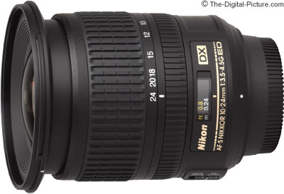 Refurb. Nikon 10-24mm f/3.5/4.5G ED-IF AF-S DX Lens - $446.95 Shipped (Compare at $896.95 New)