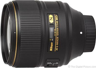 Nikon 105mm f/1.4E ED AF-S Lens