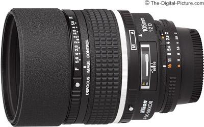 Nikon 105mm f/2D AF DC Lens