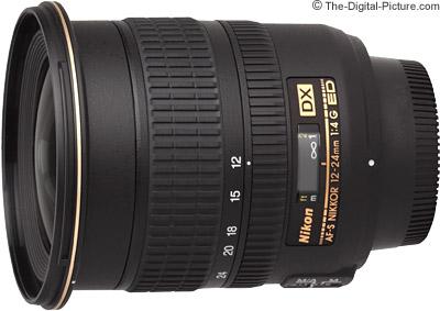 Nikon 12-24mm f/4G AF-S DX Lens