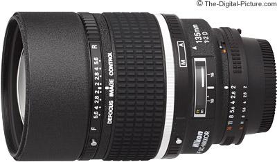 Nikon 135mm f/2D AF DC Lens