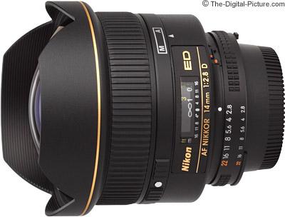 Nikon 14mm f/2.8D AF Lens