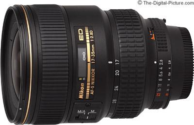 Nikon 17-35mm f/2.8D AF-S Lens