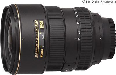 Nikon 17-55mm f/2.8G AF-S DX Lens