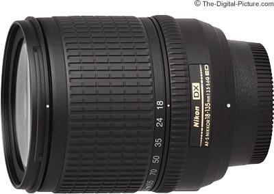 Nikon 18-135mm f/3.5-5.6G AF-S DX Lens