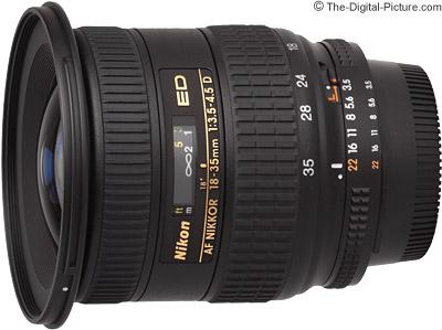 Nikon 18-35mm f/3.5-4.5D AF Lens