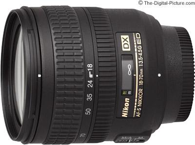 Nikon 18-70mm f/3.5-4.5G AF-S DX Lens