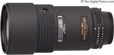 Nikon 180mm f/2.8D AF Lens