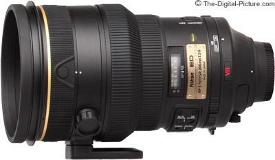 Nikon 200mm f/2G AF-S VR Lens