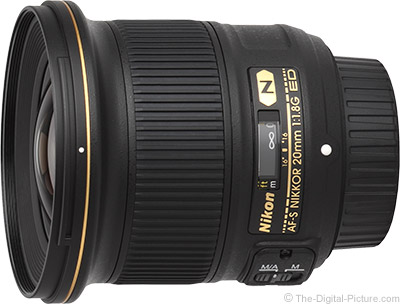 Nikon 20mm f/1.8G AF-S Lens