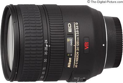 Nikon 24-120mm f/3.5-5.6G AF-S VR Lens
