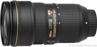 Nikon 24-70mm f/2.8E AF-S VR Lens