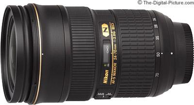 Nikon 24-70mm f/2.8G AF-S Lens