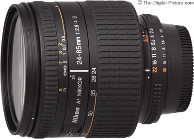 Nikon 24-85mm f/2.8-4D AF Lens