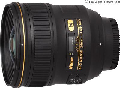 Nikon 24mm f/1.4G AF-S Lens