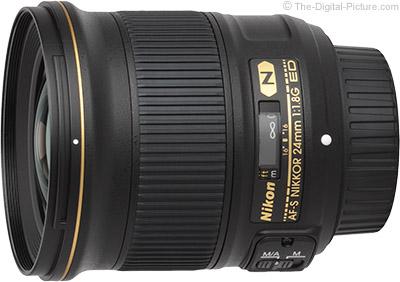 Nikon 24mm f/1.8G AF-S Lens