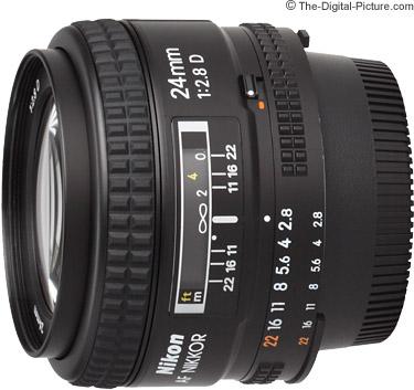 Nikon 24mm f/2.8D AF Lens