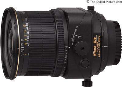 Nikon 24mm f/3.5D PC-E Lens