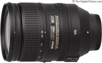 Nikon 28-300mm f/3.5-5.6G AF-S VR Lens