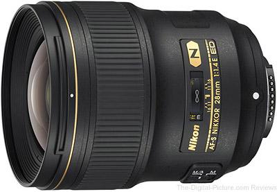 Nikon 28mm f/1.4E ED AF-S Lens