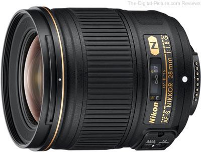 Nikon 28mm f/1.8G AF-S Lens