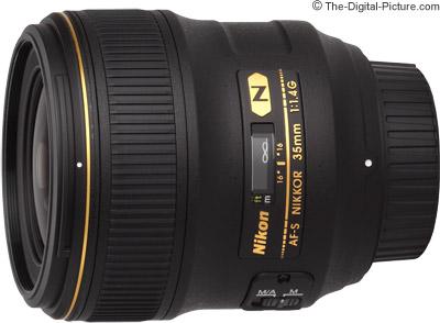 Nikon 35mm f/1.4G AF-S Lens
