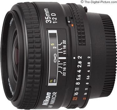 Nikon 35mm f/2D AF Lens