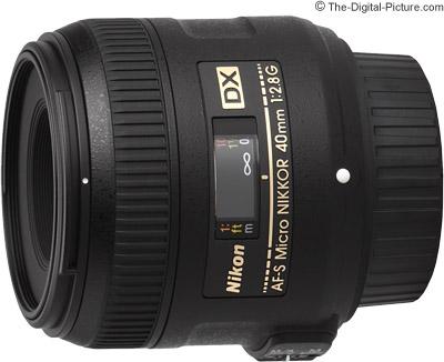 Nikon 40mm f/2.8G AF-S DX Micro Lens