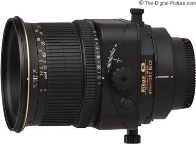 Nikon 45mm f/2.8D PC-E Micro Lens